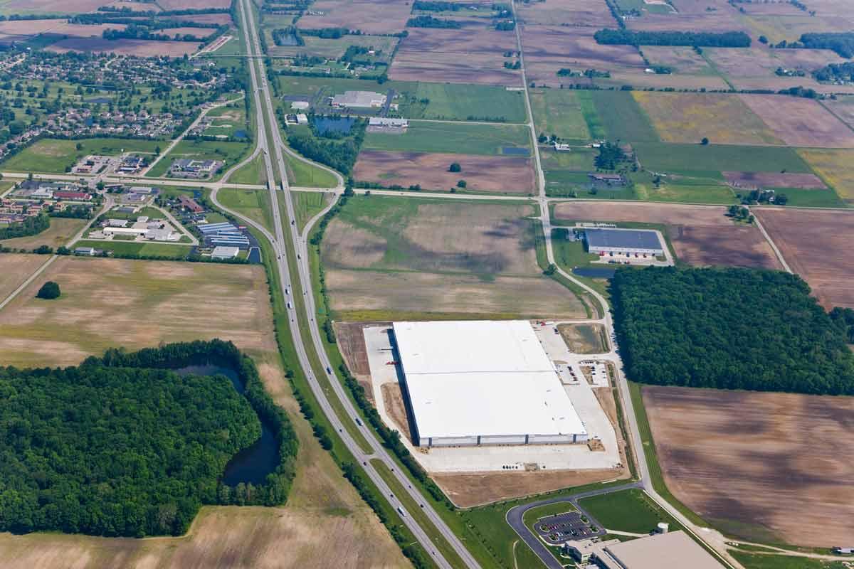 Cooper Tire Distribution Center | Franklin, IN | GDI Construction