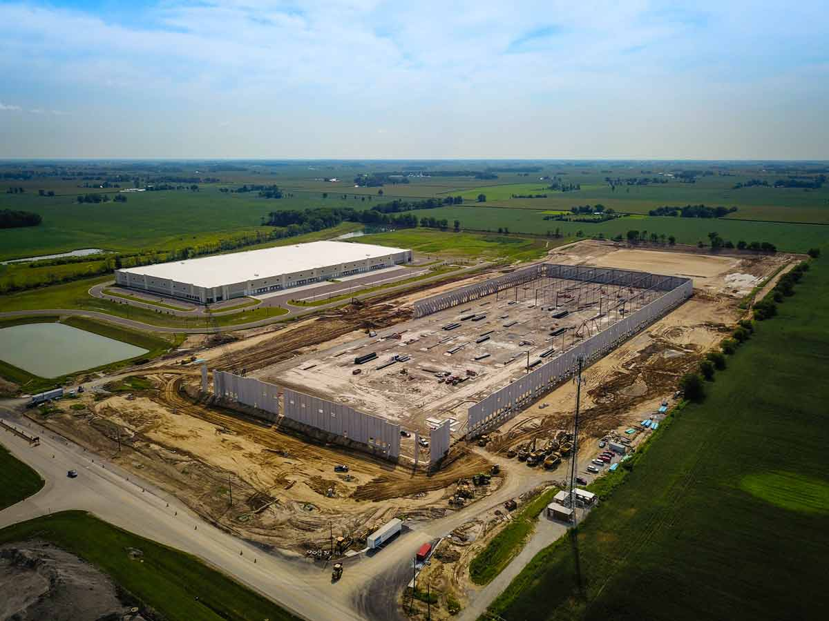Exeter Building 3 | Whitestown, IN | GDI Construction